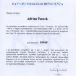 Dyplom Bieglego Rewidenta